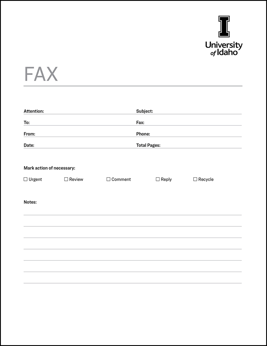 Fax Cover Sheet Template Google Docs