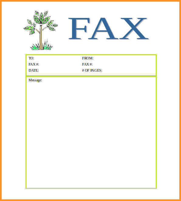 Free Fax Cover Sheet Template PDF Examples